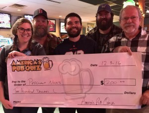 1st place in the Tournament 3827WI (Pregnant Nuns), winners of $200!